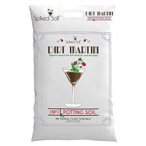 Dirt Martini Cannabis Soil from Spiked Soil