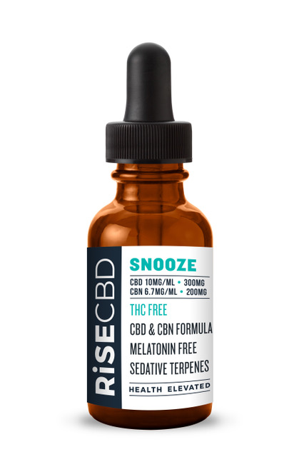 CBN Oil Sleep Aide SNOOZE by RISECBD