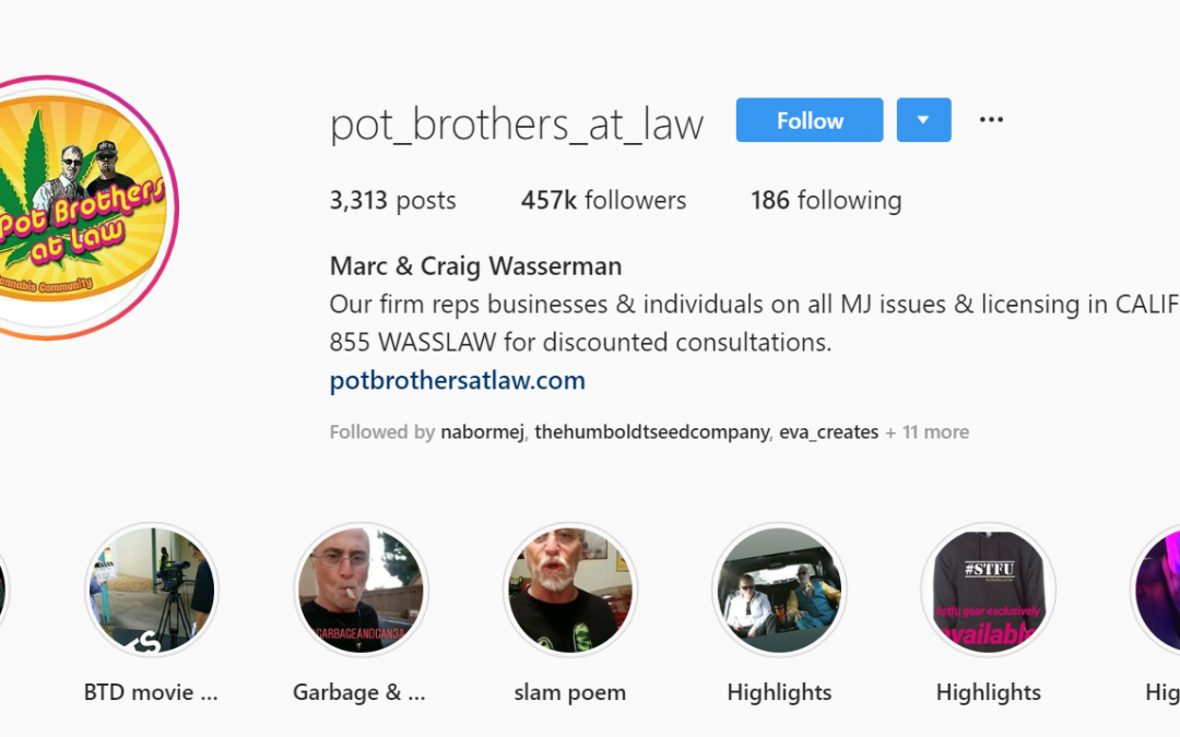 What to do if you are pulled over? Pot Brothers at Law explains with their script