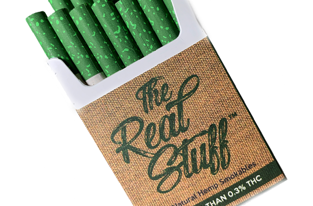 Hemp Cigarette Packs and Cartons Now Available