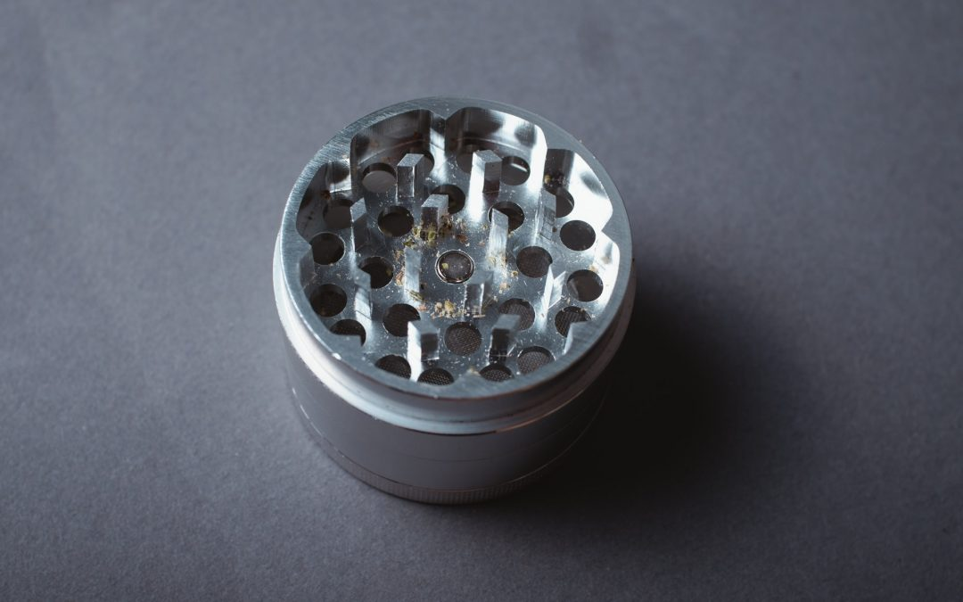 Use a grinder, not your fingers!
